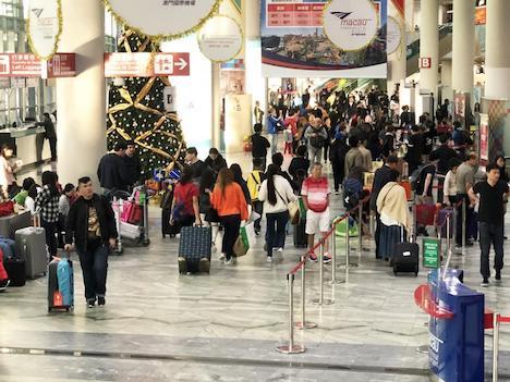 マカオ国際空港、2017年の年間旅客数716万人…1995年の開港以来最多