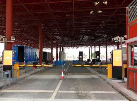 マカオ・コタイ出入境施設の車両検問所のガードを強化…強行突破事件受け