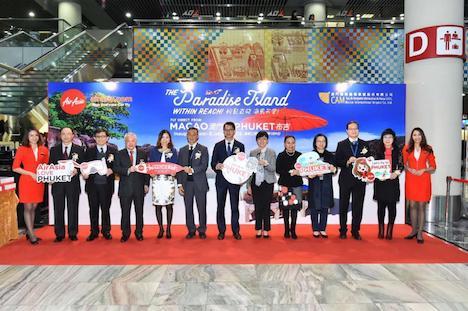 エアアジアがマカオ〜プーケット路線に新規就航…1日1往復