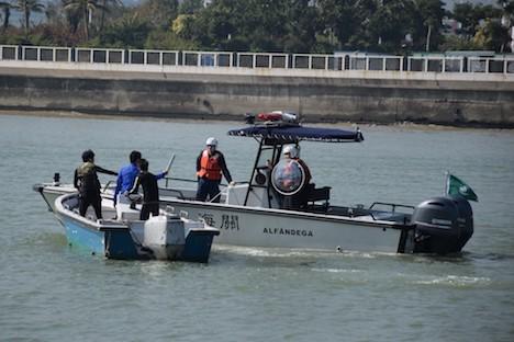 マカオ税関が2日間にわたる密航対策訓練実施