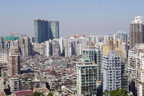 マカオの17年11月〜18年1月の住宅価格指数257.2…対前年12.8%上昇