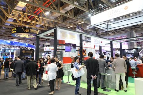 マカオで5月開催の国際カジノ見本市「G2Eアジア2018」概要発表…展示面積対前年3割拡大