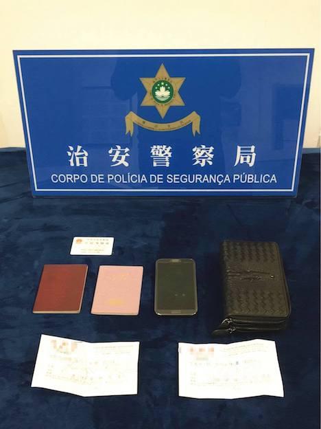 マカオ警察、拾ったハンドハッグを着服した中国人の男逮捕