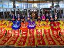 2月13日に開業したばかりの大型IR(統合型リゾート)「MGMコタイ」で開催された春節祝賀セレモニーの様子(資料)=2018年2月19日(写真:MGM China Holdings Limited)