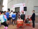 マカオタワーの展望台を目指して階段を駆け上がるランナーたち=2017年2月5日(写真:Macau Tower)
