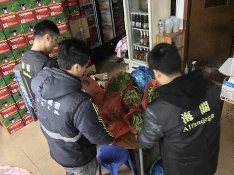 マカオ税関、密輸食材使用のレストラン摘発…未検疫の野菜や海産物など計600キロ分発見