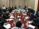 フェリーターミナル運営関係者を集めたミーティングの様子(写真:マカオ政府海事・水務局)
