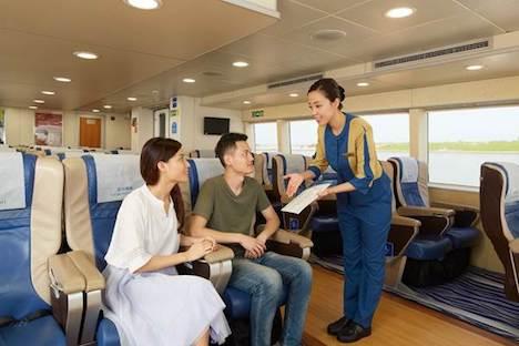 香港国際空港とマカオ・タイパフェリーターミナル結ぶ高速船コタイウォータージェットがキャセイパシフィック航空とコードシェア