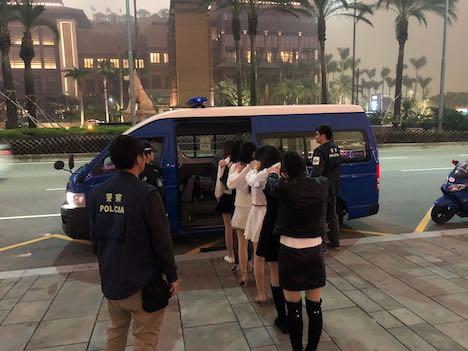 マカオ警察、カジノIRが建ち並ぶコタイ地区で違法売春取り締まり実施…中国本土出身女子6人の身柄拘束