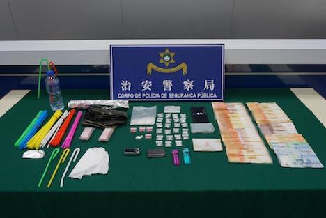 マカオ、カジノで負け覚せい剤密売に手を染めた中国人の男逮捕