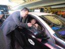 サンズマカオ開業14周年を記念して実施されたタクシードライバーへの弁当無償配布=2018年5月18日(写真:Sands Macao)