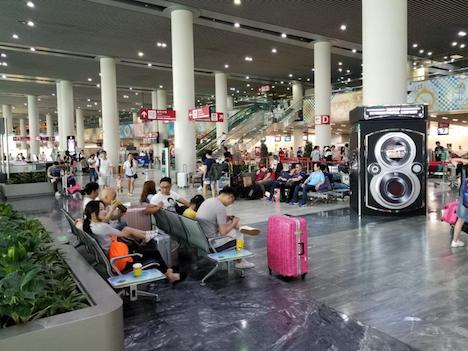 マカオ国際空港の旅客ターミナルビル(資料)=マカオ・タイパ島(写真:CAM)