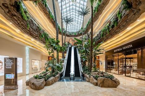 サンズコタイセントラルのショッピングモール「ショップスコタイセントラル」のイメージ(写真:Sands China Limited)