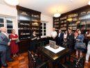 ロバート・ホー・トン図書館オープン60周年記念セレモニーの様子=2018年8月4日(写真:ICM)