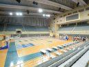 メディアに公開されたマカオ・塔石体育館の避難センター(写真:GCS)