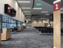 マカオ国際空港旅客ターミナルビル北側のG階に新設された搭乗ゲート(写真:CAM)