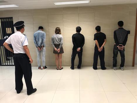 マカオ税関が身柄の拘束に成功したベトナム人の不法上陸者5人(写真:澳門海關)