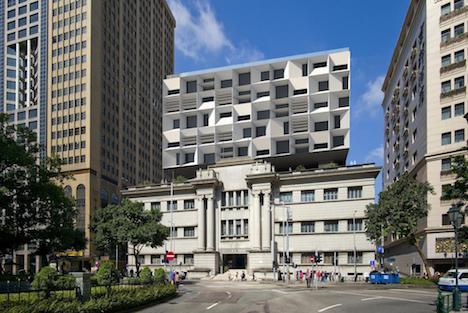 マカオ新中央図書館設計プランのイメージ画像(写真:ICM)