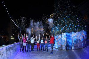 「ウィンター・イン・パリ」スケートリンクのイメージ(写真:Sands Resorts Macao)