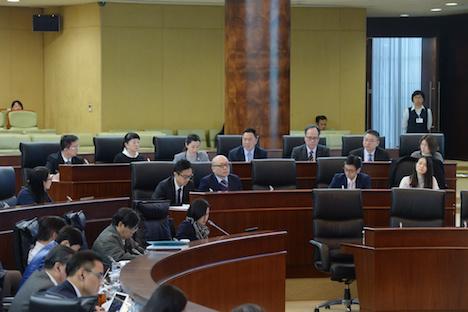 2018年12月18日のマカオ立法会全体会議でカジノフロア入場とカジノ内業務及びゲーミング条件を規定する法律の改正案などについて審議と表決が行われた(写真:GCS)