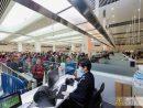 マカオ治安警察局は冬のホリデーシーズンを迎えるにあたりイミグレーション施設の審査カウンターを増やして対応にあたった(写真:マカオ治安警察局)