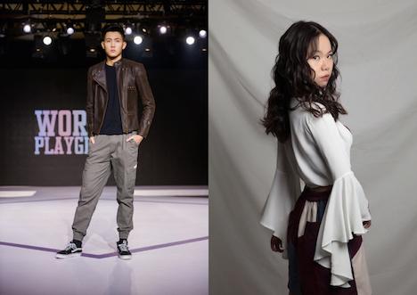 「第3回ベスト・グローバル・モデル・オブ・ザ・イヤー」マカオ地区代表に選ばれた陳健城さんと黃諾韻さん(写真:CPTTM)