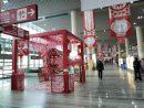 春節シーズンを控えたマカオ国際空港の旅客ターミナルビル(写真:CAM)