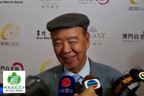 ギャラクシーエンターテイメントグループの呂志和会長(資料)=2018年8月、香港にて本紙撮影