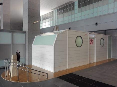 タイパフェリーターミナルに設置された授乳室(写真:マカオ政府海事・水務局)