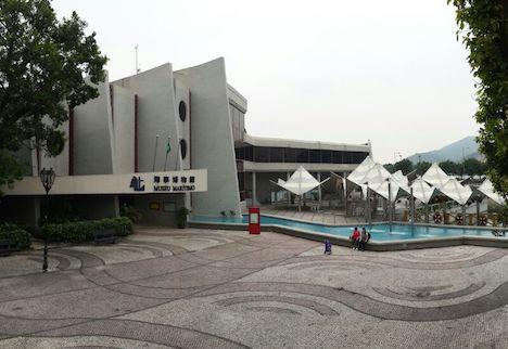 マカオ海事博物館外観(写真:DSAMA)