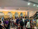 多くの人出で賑わう春節GW期間中のマカオ博物館(写真:ICM)