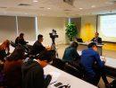 マカオ国際空港運営会社CAMによる定期株主総会後の記者会見の様子=2019年3月29日(写真:CAM)