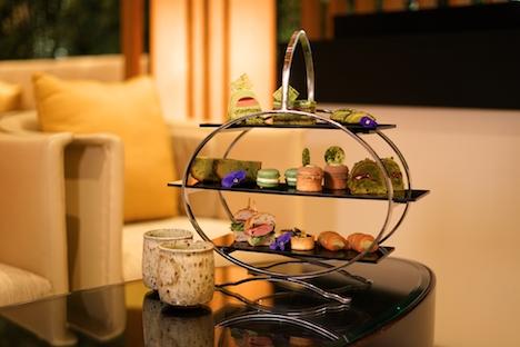 ホテルオークラマカオ「奈和美」で期間限定提供される抹茶アフターヌーンティーセットのイメージ(写真:Hotel Okura Macau)