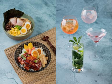 シェラトン・グランド・マカオの日本食フェア「テイスト・オブ・ジャパン」のメニュー例(写真:Sheraton Grand Macao Hotel, Cotai Central)