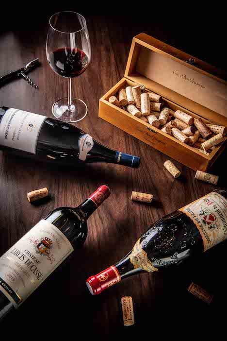 グランドリスボアホテルが『ロバート・パーカー・ワイン・アドヴォケイト』で高評価を獲得した3銘柄をプロモートする『マグナム体験の旅』のイメージ(写真:Grand Lisboa Hotel)