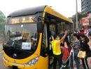 労働節ホリデー期間中、マカオの公共路線バス運営会社は増発や大型バスの投入、臨時路線の開設等で対応した(写真:DSAT)