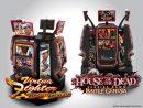 『Virtua Fighter BATTLE GENESIS™』と『HOUSE OF THE DEAD SCARLET DAWN BATTLE GENESIS™』の筐体イメージ ©SEGA ©SEGA SAMMY CREATION INC.
