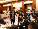 マカオ司法警察局によるコタイ地区での取り締まりの様子(写真:マカオ司法警察局)