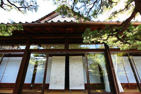 京都・瑞泉寺における『氷蓮図』の展示