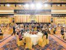 サンズチャイナが勤続満15年に達した従業員を招いて開催した祝賀ディナーレセプションの様子(写真:Sands China Limited)