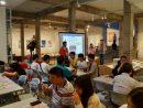 マカオで開催された「鹿児島本格焼酎試飲会」会場の様子=2019年6月20日、塔石ギャラリーにて本紙撮影