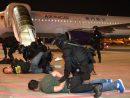 マカオ国際空港で実施されたハイジャック対策訓練の様子(写真:マカオ民航局)