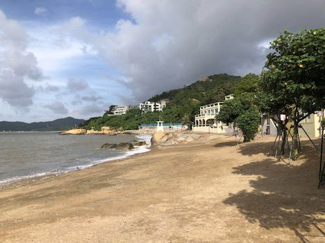 7月6日に平常時の状態に戻ったチョクワンビーチ(写真:DSAMA)