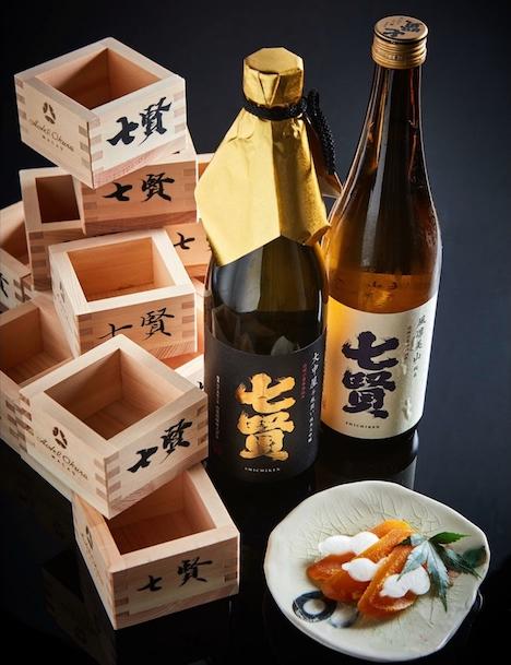 ホテルオークラマカオの日本料理「山里」の七賢酒プロモーションイメージ(写真:Hotel Okura Macau)
