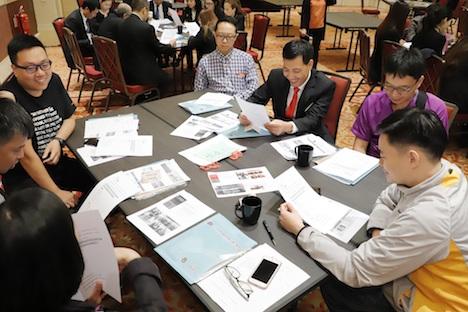 サンズチャイナが従業員向けに開催したレスポンシブルゲーミング上級トレーニング講座の様子(写真:Sands China Limited)