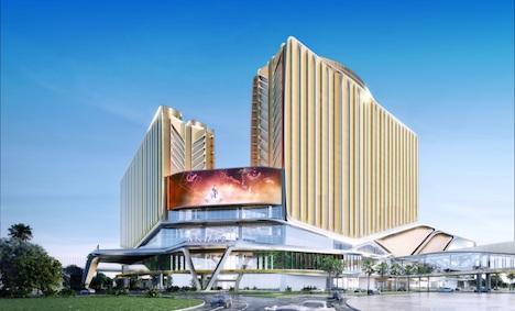 ギャラクシー・リゾーツにオープン予定のアンダーズ マカオ完成予想イメージ(写真:Galaxy Entertainment Group)
