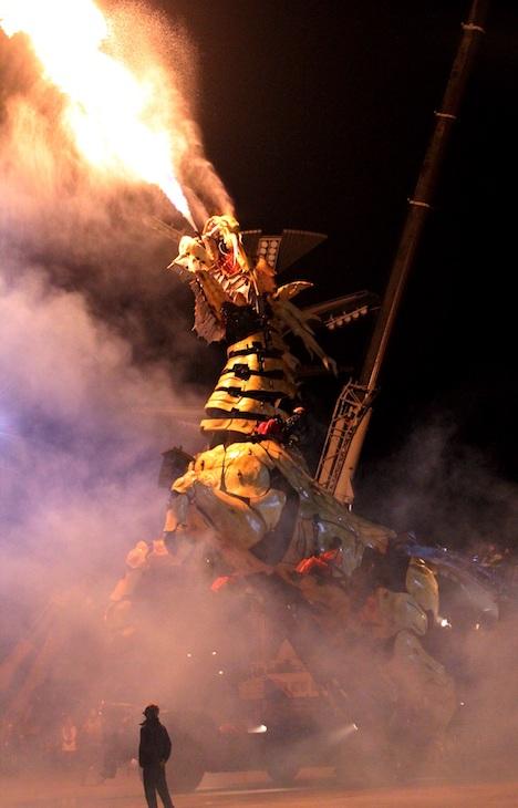 大型ロボット「龍馬精神」(写真:IAM)