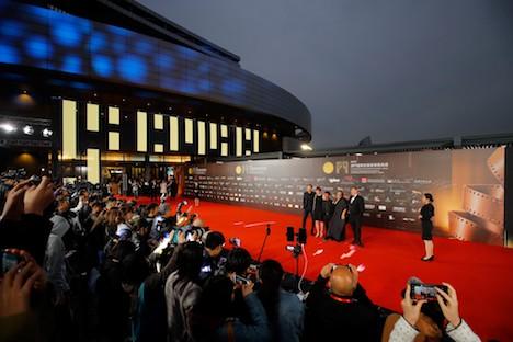 第4回マカオ国際映画祭開幕式のレッドカーペット=2019年12月5日、マカオ文化センター(写真:International Film Festival & Awards, Macao)