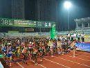 第38回「ギャラクシーエンターテイメント杯マカオ国際マラソン2019」に約1.2万人のランナーが参加=2019年12月1日、マカオ・タイパ島(写真:Galaxy Entertainment Group)