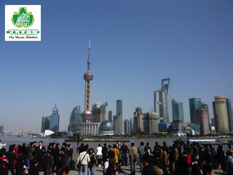 中国・上海(資料)—本紙撮影